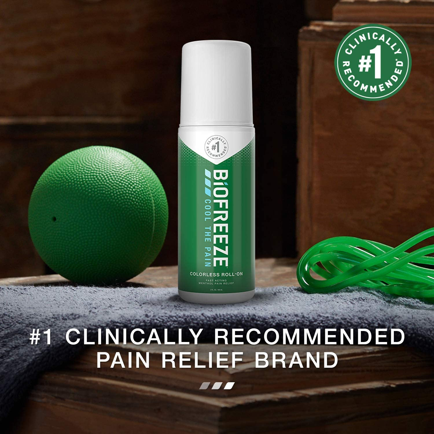 Biofreeze Pain Relief Roll-On - 3 oz