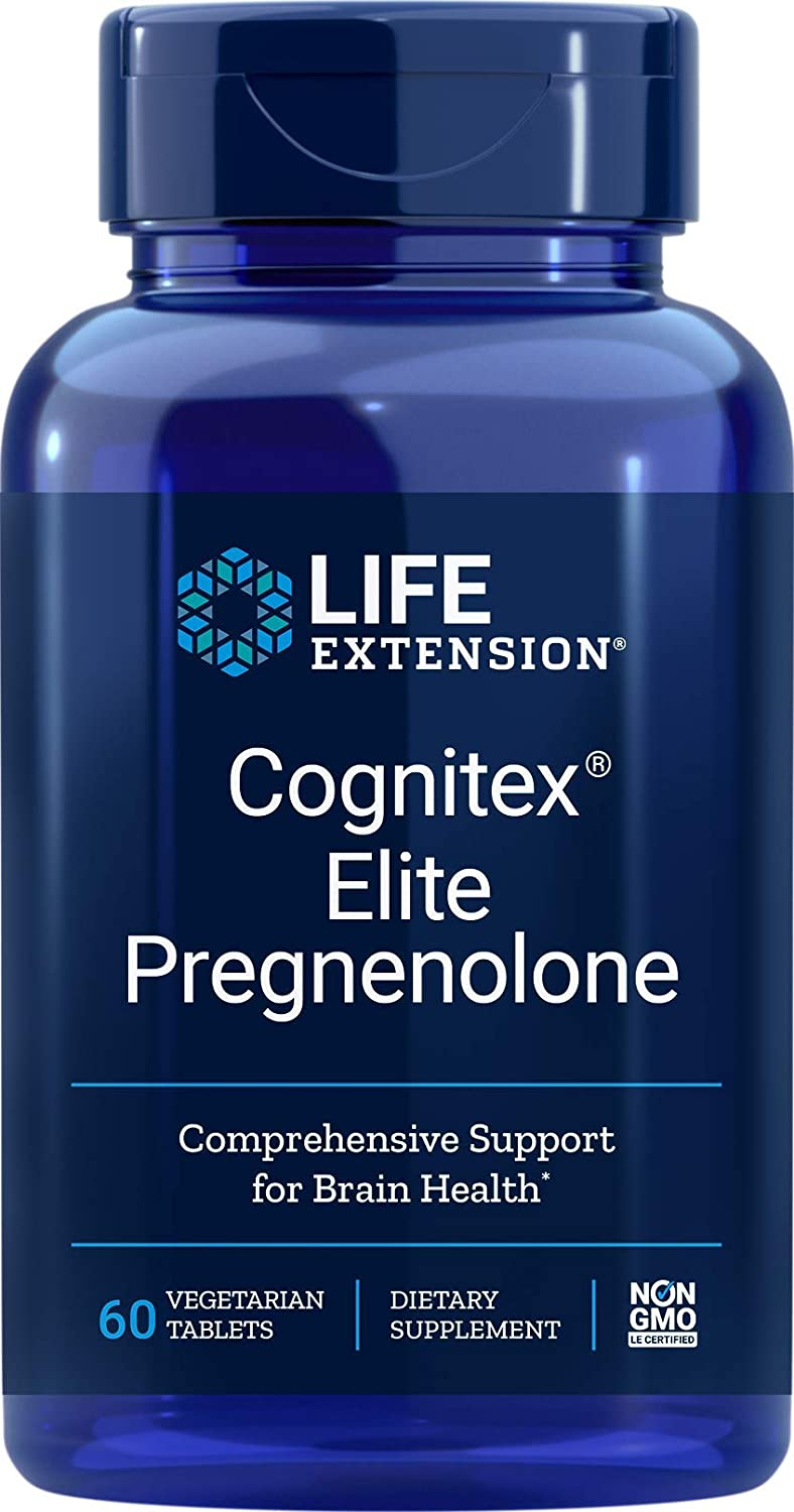 Life Extension Cognitex Elite Pregnenolone - 90 Tablet (2'li Paket)