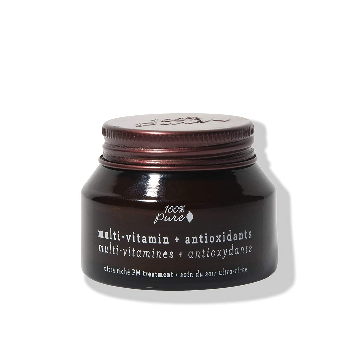 100% Pure Multi-Vitamin + Antioxidants Ultra Riche PM Treatment - 1.5 oz