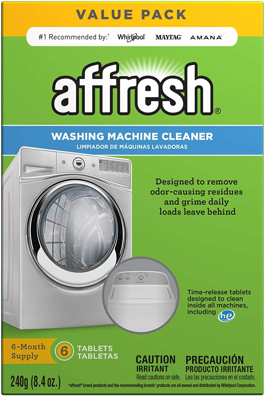 Affresh W10501250 Washing Machine Cleaner
