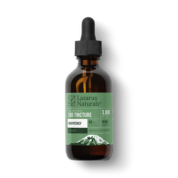 Lazarus High Potency Full Spectrum CBD Oil