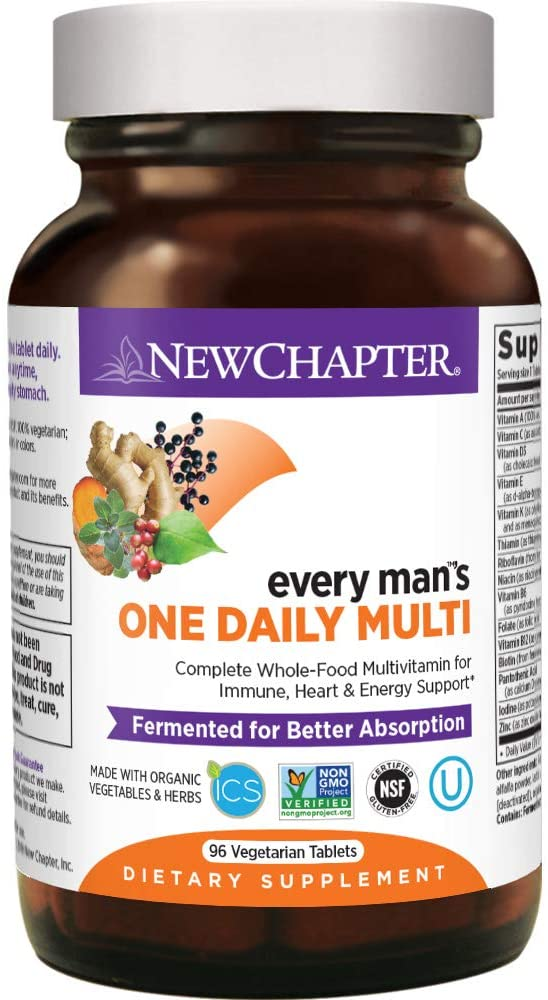 New Chapter Men's Multivitamin - 96 Tablet