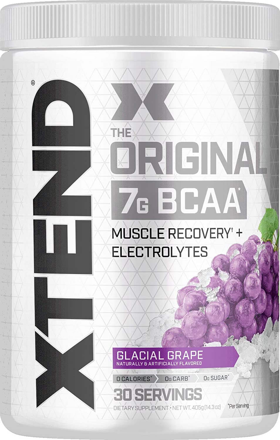 Xtend Original BCAA Powder Glacial Grape - 30 Servis
