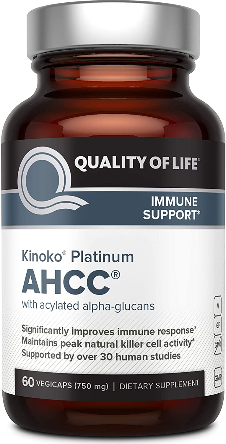 Premium Kinoko Platinum AHCC Supplement – 750mg 60 Tablet
