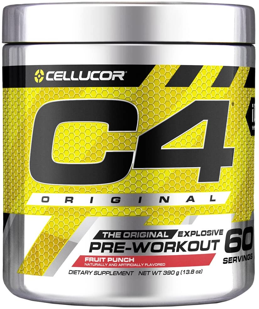 Cellucor C4 Original Pre Workout Powder Fruit Punch - 60 Servis