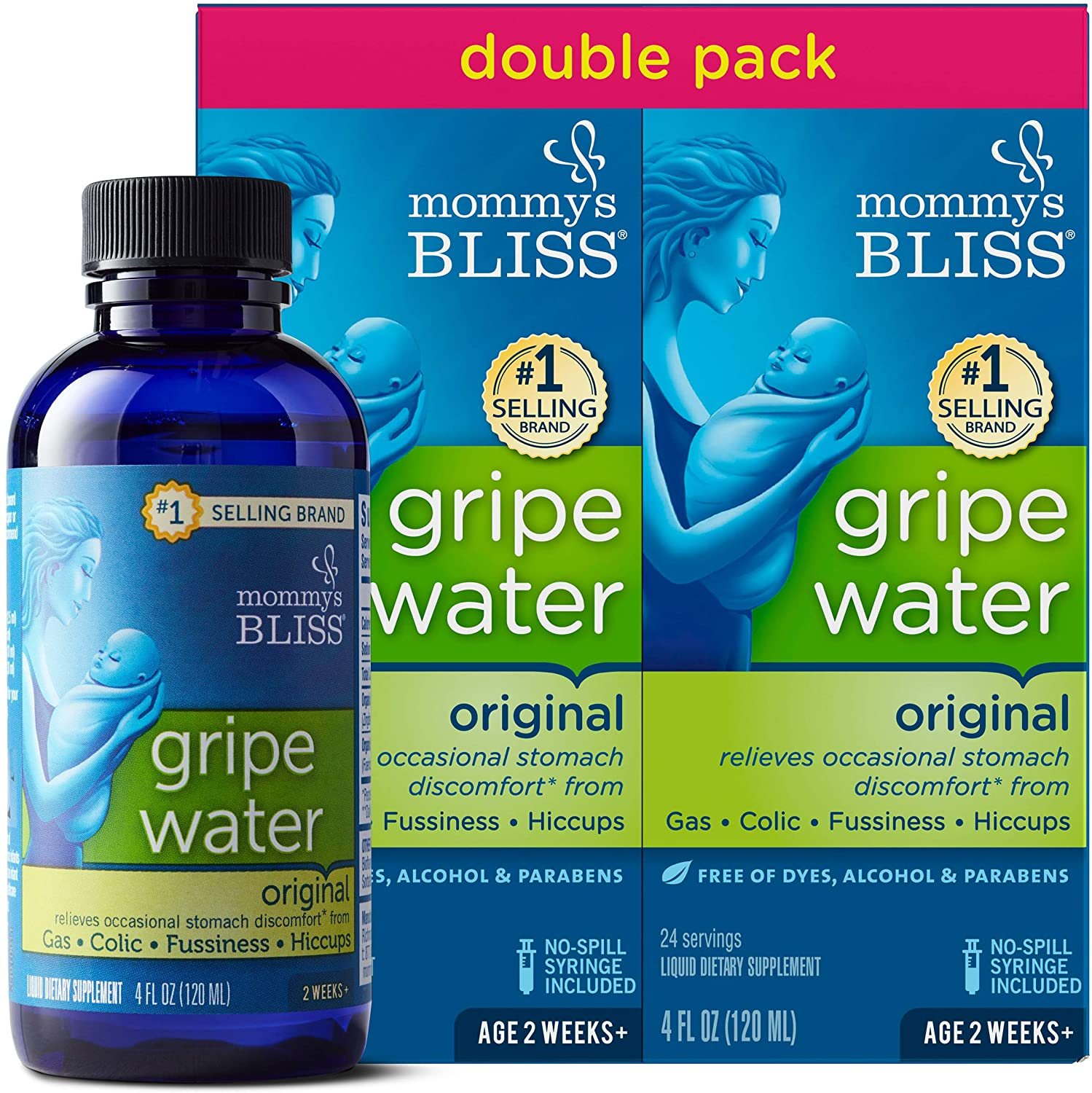 Mommy's Bliss - Gripe Water Original Double Pack - 8 FL OZ - 2'li Paket