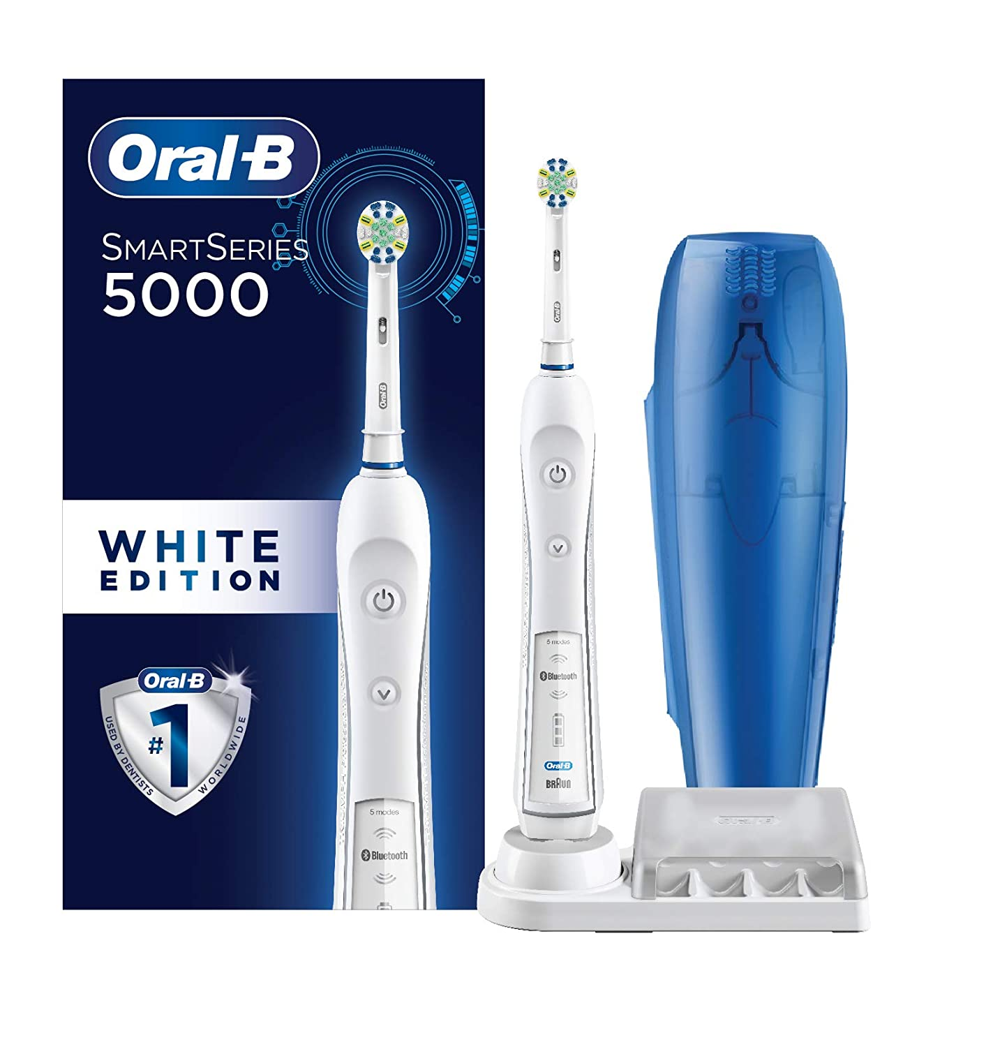 Oral-B Pro 5000 Smartseries Power Rechargeable Electric Toothbrush