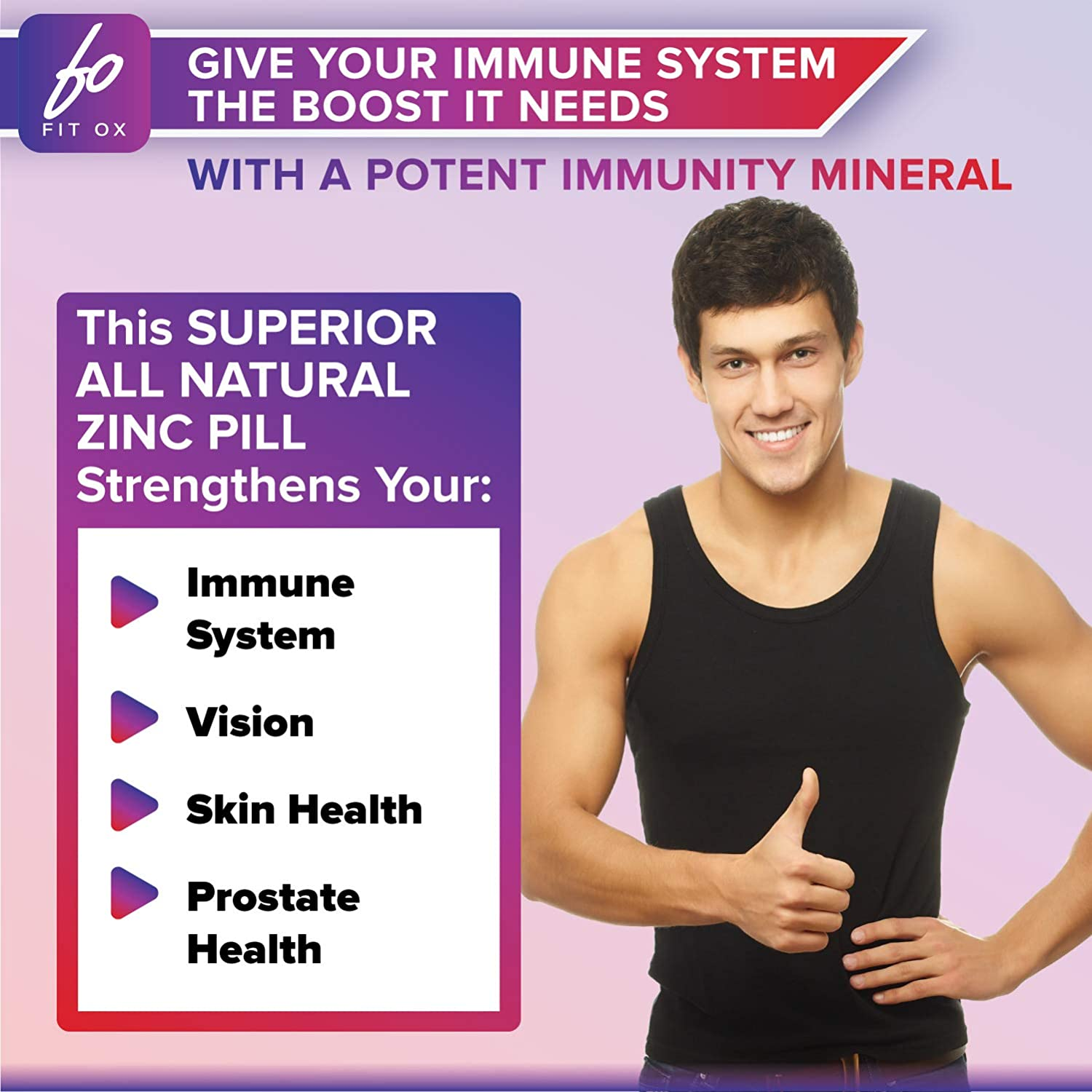Zinc 50mg Picolinate for Immune Support Booster