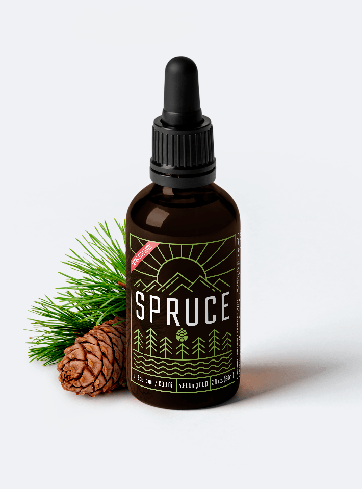 Spruce 2400mg Lab Grade CBD Oil