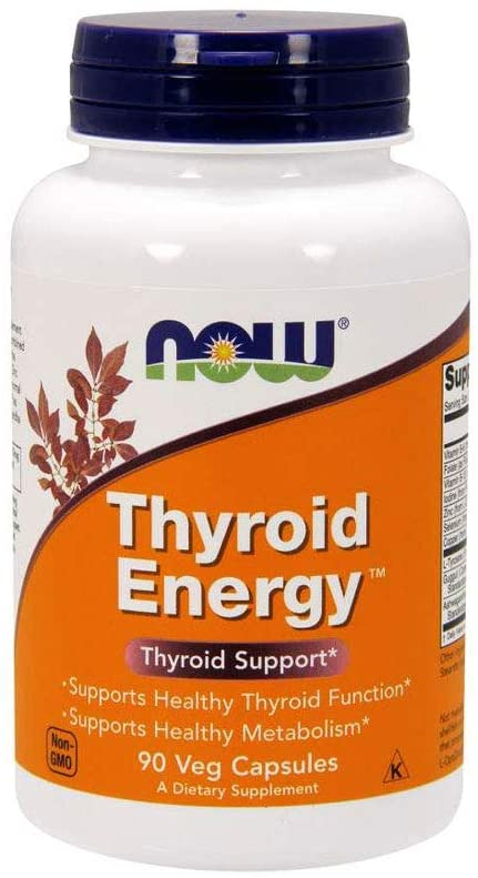 NOW Foods Thyroid Energy - 180 Tablet