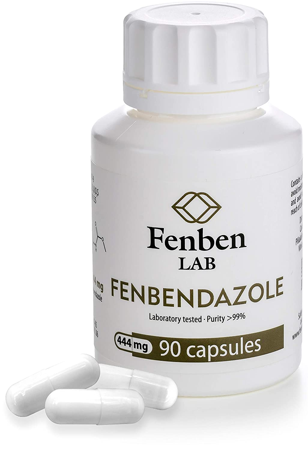 Fenbendazol 444mg - 90 Tablet