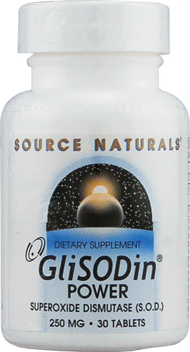 Source Naturals GliSODin Power - 250 mg - 30 Tablet