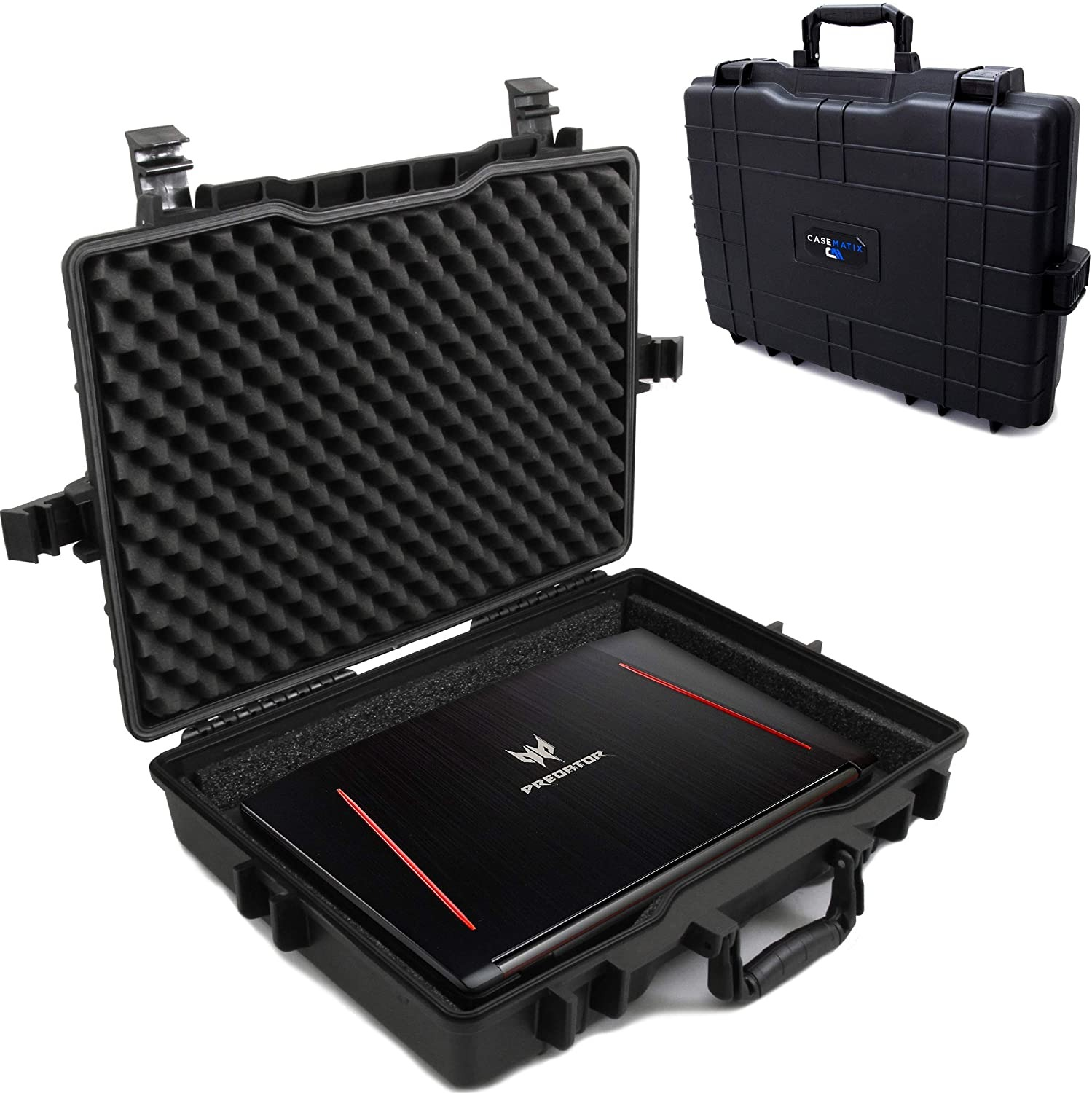 CASEMATIX Waterproof Laptop Hard Case