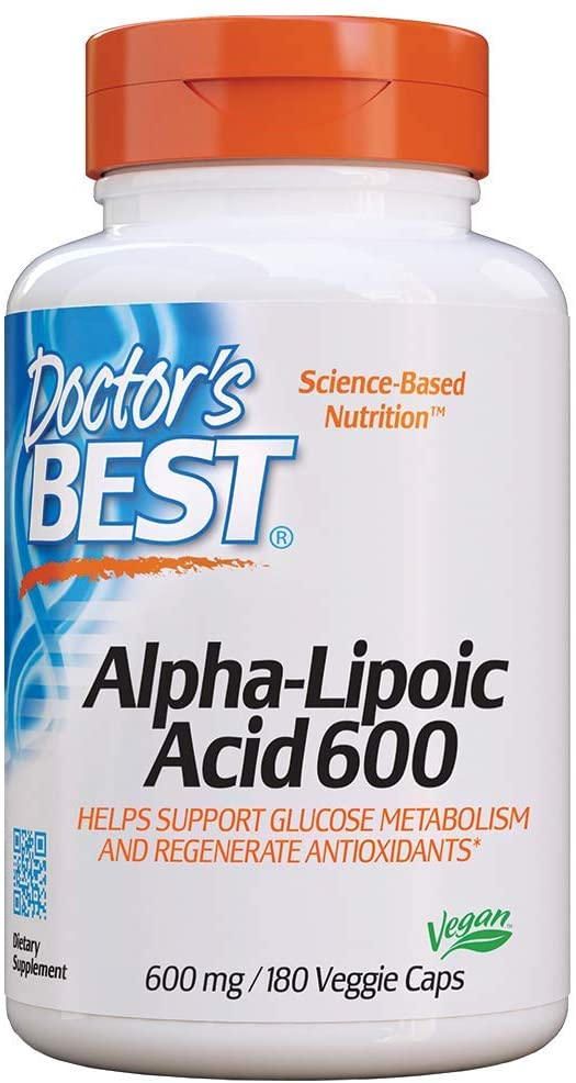 Doctor's Best Alpha-Lipoic Acid - 180 Tablet