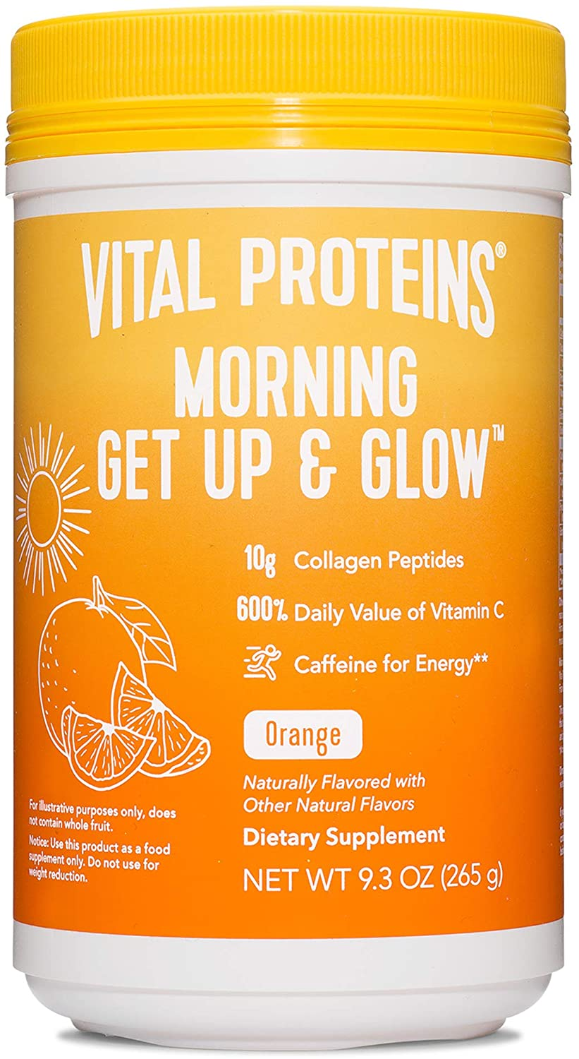 Vital Proteins Morning Get Up and Glow Collagen Powder - 9.3 oz