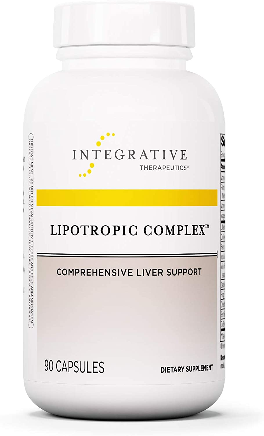 Integrative Therapeutics Lipotropic Complex - 90 Capsules