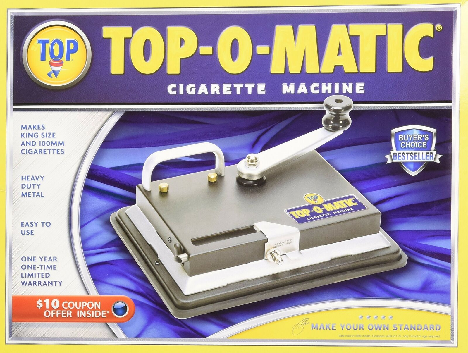 Top O Matic Sigara Sarma Makinesi