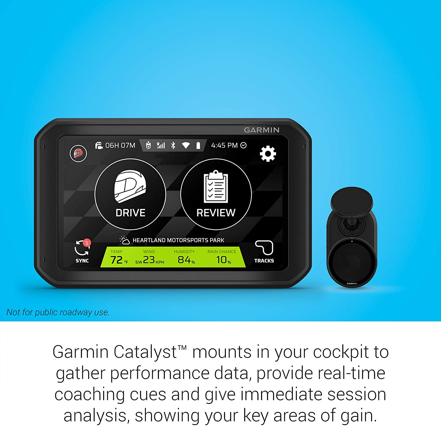 Garmin Catalyst Driving Performance Optimizer