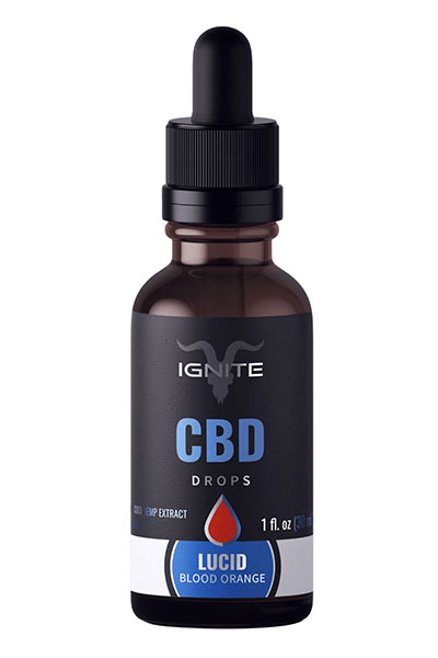 Blood Orange CBD Oil Drops