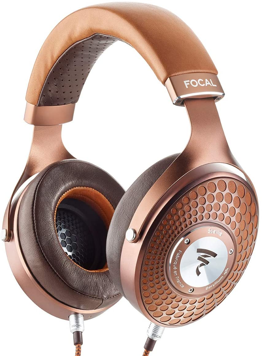 Focal Stellia Headphones - Cognac