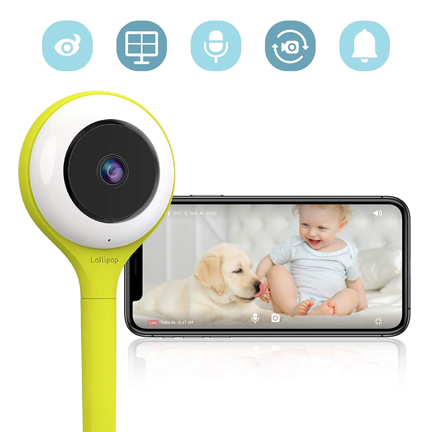Lollipop Baby Camera - Pistaccio