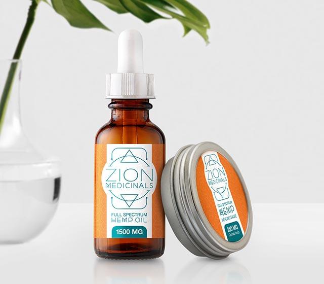 Zion Medicinals CBD Ürünleri
