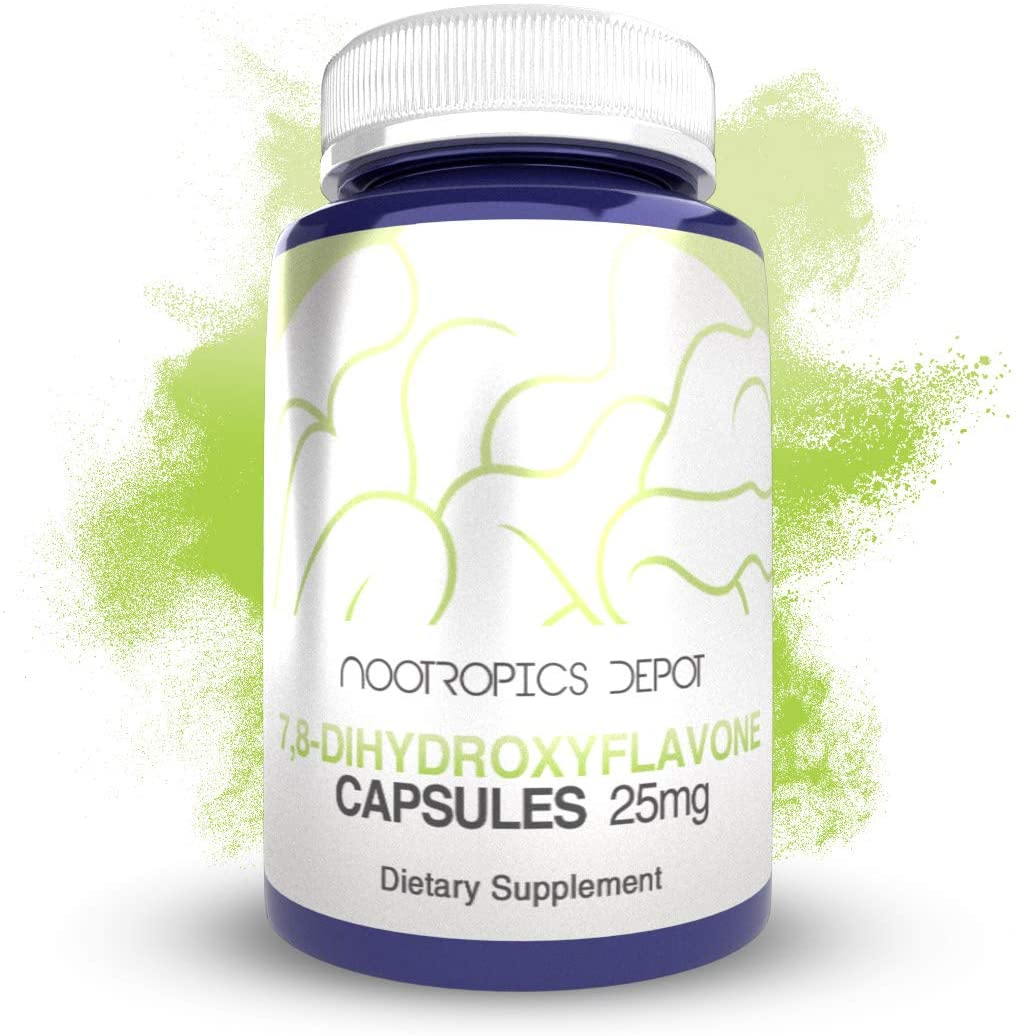 Nootropics Depot 7,8-Dihydroxyflavone Capsules 25mg - 60 Tablet