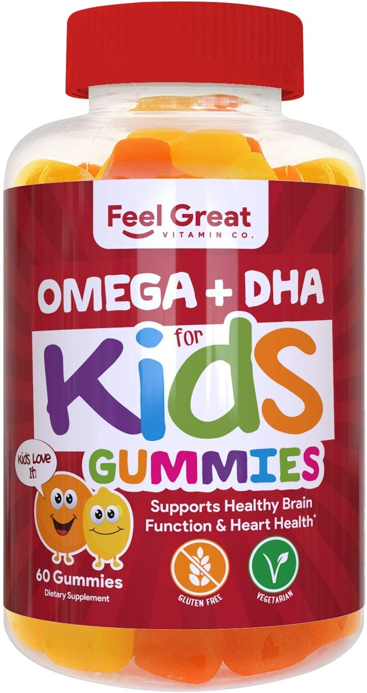 Complete DHA Gummies for Kids Vegan - 60 Tablet