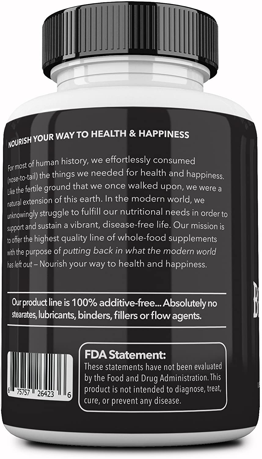 Ancestral Supplements Grass Fed Beef Organs - 180 Tablet