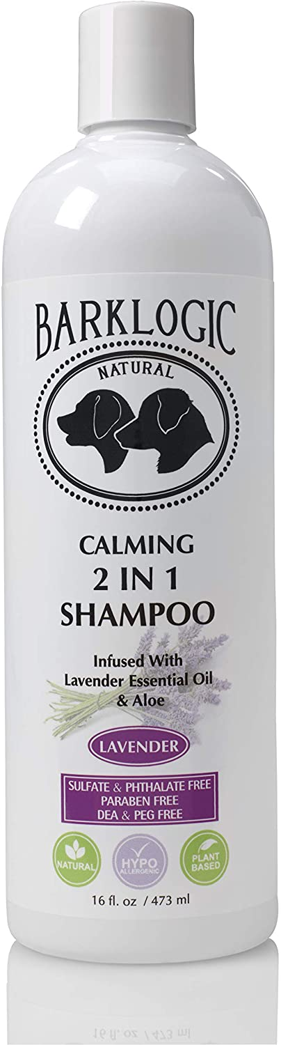 BarkLogic 2 in 1 Natural Dog Shampoo and Conditioner