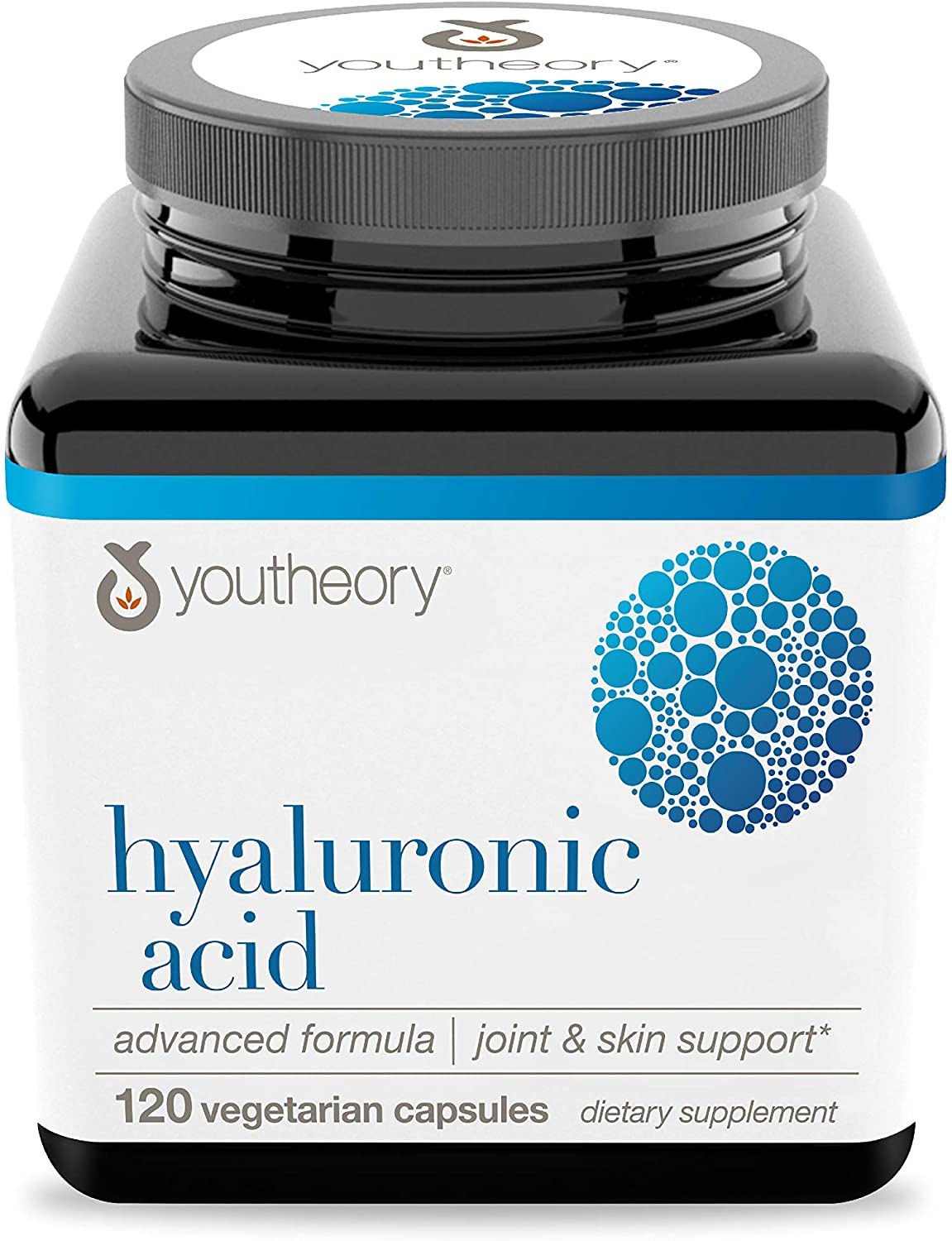 Youtheory Hyaluronic Acid Advanced with Boswellia - 120 Tablet