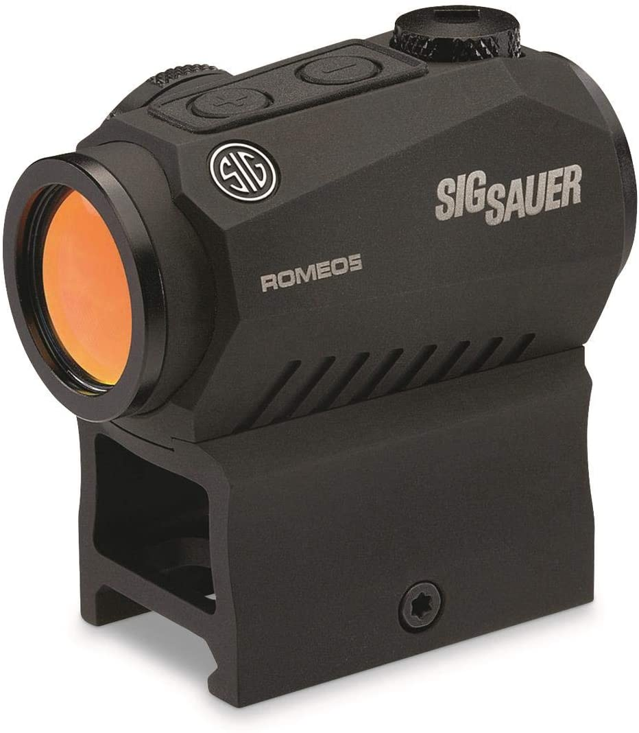 Sig Sauer Romeo5 1x20mm Compact 2 Moa Red Dot Sight - Black