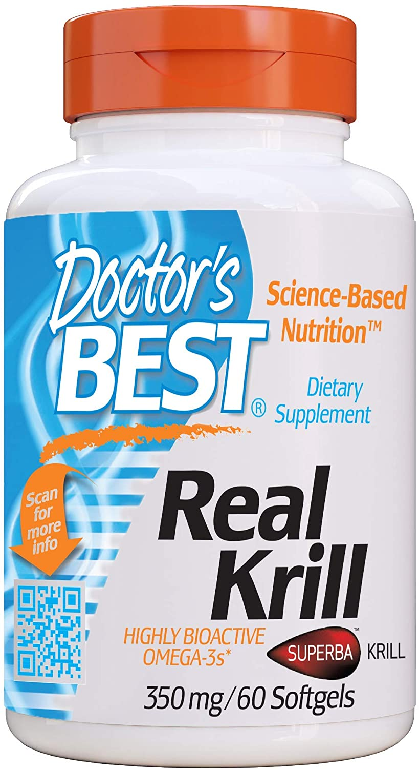 Doctor's Best Real Krill 350mg - 60 Tablet